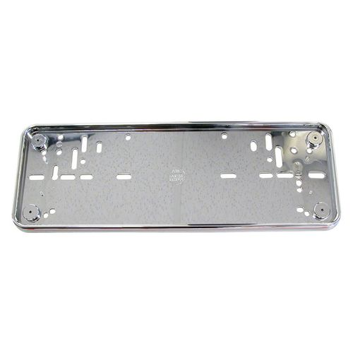 Carpoint 1362005 Porte Plaque dImmatriculation Euro Chrome